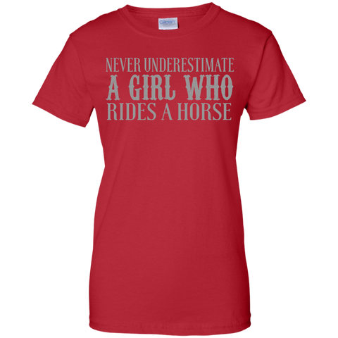 Image of Never Underestimate A Girl T-Shirt