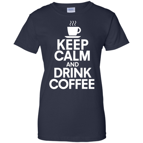 Image of Keep Calm and Dink Coffee T-Shirt