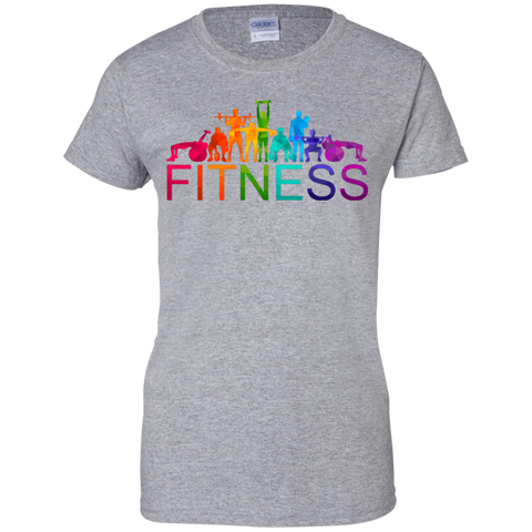 Image of Fitness Ladies' T-Shirt