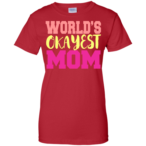 Image of World's Okayest Mom T-Shirt