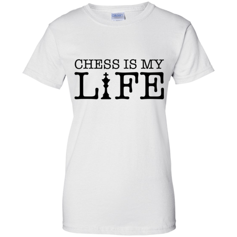 Image of Chess is My Life Ladies' T-Shirt