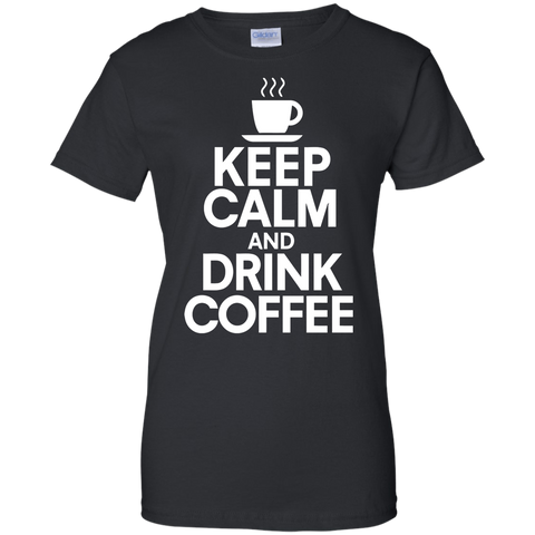 Keep Calm and Dink Coffee T-Shirt