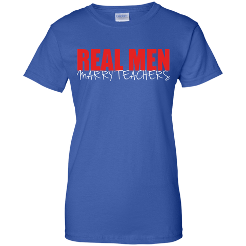 Image of Real Men Marry Teachers T-Shirt