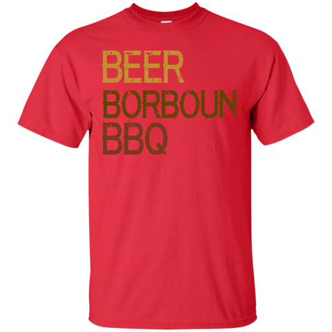 Image of Beer Borboun BBQ T-Shirt
