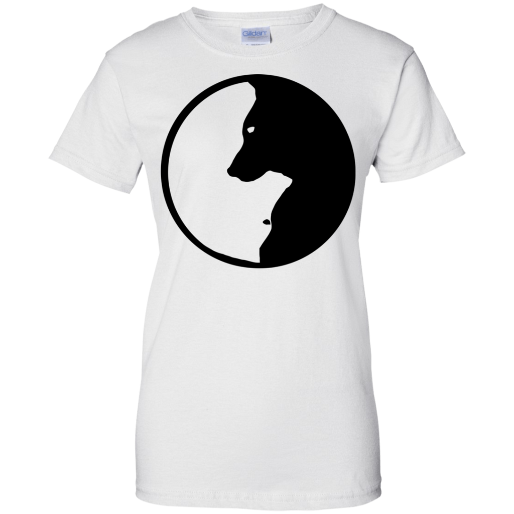 Dog Zen Ladies' T-Shirt