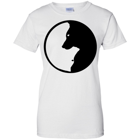 Image of Dog Zen Ladies' T-Shirt