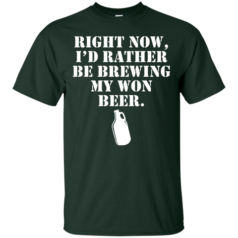 Brewing My One Beer T-Shirt