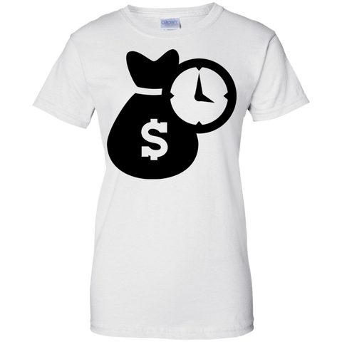 Time Is Money Ladies' T-Shirt