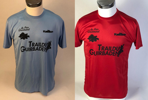 Maillots Staff et finishers sur le Trail du Guirbaden