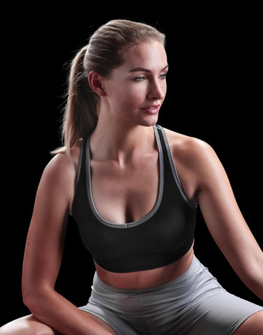 Brassière Fitness Compression F&R