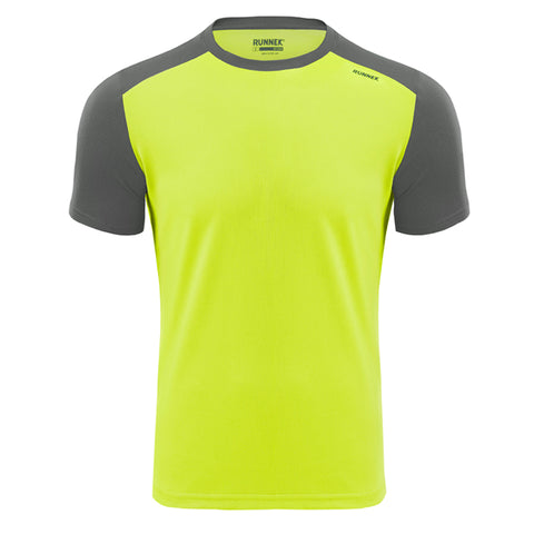 Maillot Homme Limit jaune RUNNEK
