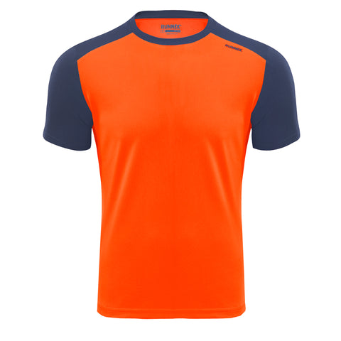 Maillot Homme Limit orange RUNNEK