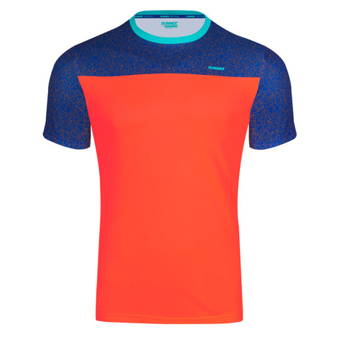 Maillot Homme Cube orange RUNNEK