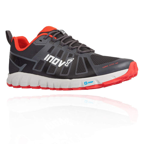 Chaussures Trail INOV8 TERRAULTRA 260 Homme Gris/Rouge