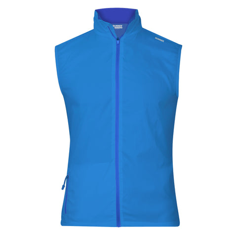 Gilet Technique Evo bleu RUNNEK