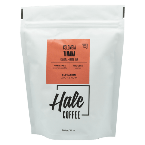 HALE COFFEE: COLOMBIA TIMANA