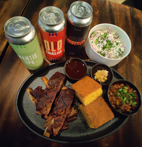 Goose Island x Uncle Ray's Carolina BBQ St.Louis Style Ribs Meal Kit Bundle