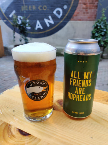 All My Friends Are Hop Heads Vienna Lager - 5.1% ABV