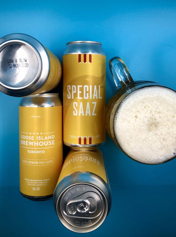 Special Saaz Czech Premium Pale Lager - 4.3% ABV