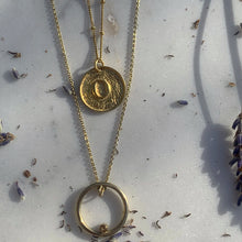 Load image into Gallery viewer, Cori & Eris Gold Layering Necklace Set