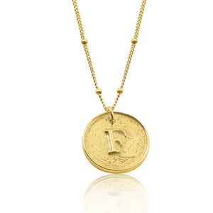 Eris Initial Necklace - Gold