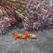 Load image into Gallery viewer, Rimona Studs - Gold