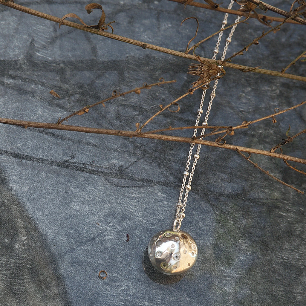 Lua Necklace - Silver