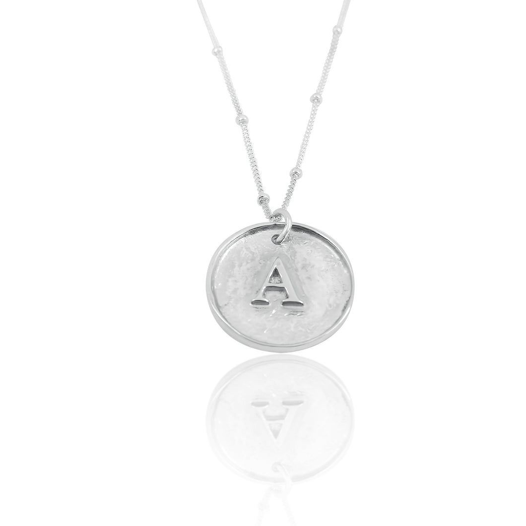 Eris Initial Coin Necklace