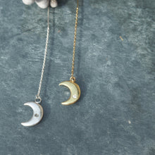 Load image into Gallery viewer, The Monday Moon Earrings