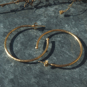 The Ryleigh Hoops - Gold