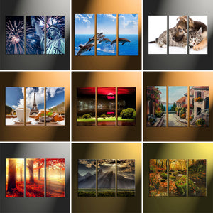 "3 Piece Canvas 12"" x 36"" (40x90cm) - Canvas Print Sale"