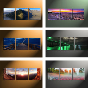 3 Photo Collage Canvas For 3 Pieces Canvas Prints - Canvas Print Sale