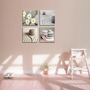 4 Pieces Personalised Canvas Prints With Your Own Pictures Squared Canvas Wall Art - Canvas Print Sale