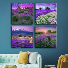 "Load image into Gallery viewer, Custom Canvas Prints 4 Piece Canvas Wall Art Framed Ready to Hang Canvas Prints 4pcs 16""x16"" - Canvas Print Sale"