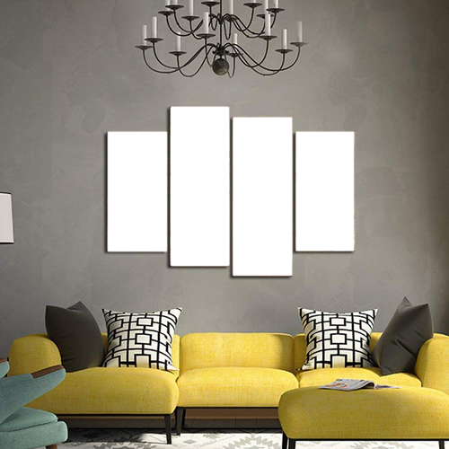 Custom Canvas Prints 4 Piece Canvas Wall Art Framed Ready to Hang Canvas Prints 2x12