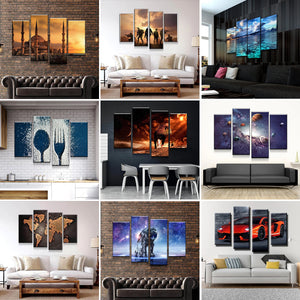 "4 Piece Canvas 24"" x 48"" (60x120cm) - Canvas Print Sale"
