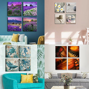 4 Piece Canvas Square Collage Canvas - Canvas Print Sale