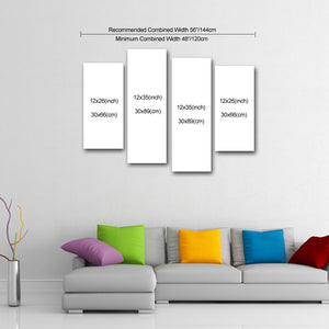 "4 Piece Canvas 35"" x 48"" (89x120cm) - Canvas Print Sale"
