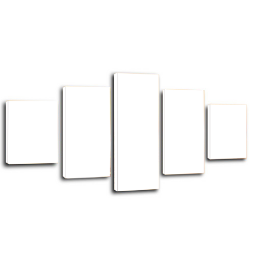 Personalised Canvas Prints 5 Piece Canvas Wall Art Framed Ready to Hang Canvas Prints