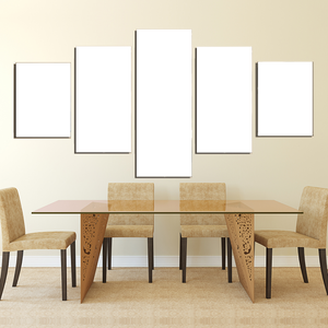 5 Panels Canvas Prints Dining Room - Canvas Print Sale