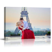 Load image into Gallery viewer, Custom Wedding Photos Canvas Prints Personalised Photo On Canvas Print Wall Art - Canvas Print Sale