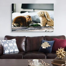 Load image into Gallery viewer, Custom Canvas Prints with Your Own Photos for Pet/Animal Personalised Canvas Wall Art - Canvas Print Sale