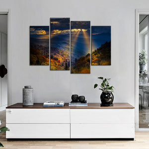 4 Piece Personalised Canvas Prints With Your Own Photos Canvas Wall Art Custom Canvas Prints - Canvas Print Sale