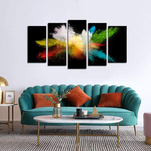 5 Piece Personalised Canvas Art With Your Own Photos Canvas Wall Art Custom Canvas Prints - Canvas Print Sale
