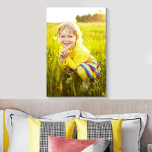 Load image into Gallery viewer, Custom Your Photos On Canvas Personalised Photo to Canvas Prints Wall Art Vertical - Canvas Print Sale