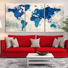 "Load image into Gallery viewer, Custom Canvas Prints 3 Piece Personalised Canvas Prints With Your Own Photos Canvas Wall Art 3pcs 16""x24""(40cmx60cm) - Canvas Print Sale"