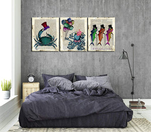 "Custom Canvas Prints 3 Piece Personalised Canvas Prints With Your Own Photos Canvas Wall Art 3pcs 16""x24""(40cmx60cm) - Canvas Print Sale"