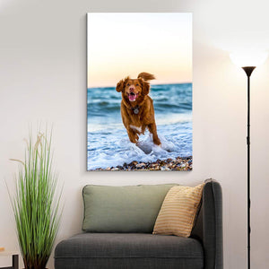 Print Your Pet Dog Cat Horse 's Photo On Canvas Prints Personalised Photo to Canvas Print Wall Art - Canvas Print Sale