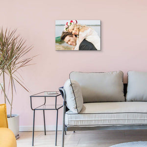 Custom Wedding Photos Canvas Prints Personalised Photo On Canvas Print Wall Art - Canvas Print Sale