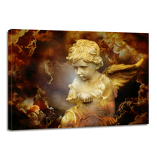 Load image into Gallery viewer, Cherub Religion Spirit Divine Heavenly Angel Canvas Prints Wall Art Home Decor - Canvas Print Sale